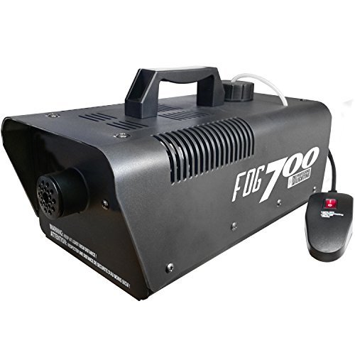 Heavy Duty 700 Watt Fog Machine - Perfect for Halloween or DJ Special Effects