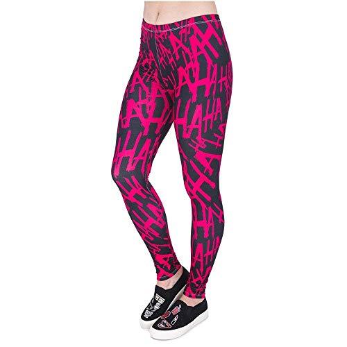 Fitness Moda Yoga Legins Divertente Legging 3d Donna Lga44017 Giovane Allenamento Alta Corsa Stampa Pantaloni Hahaha Ciclismo Da F4FqC