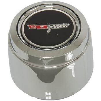 Amazon.com: 1982 Corvette aluminio rueda Center Cap w/Emblem ...