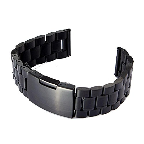 22mm-stainless-steel-watch-bandninasill-for-pebble-time-smart-watch-tool-black