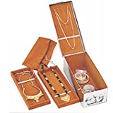 KOMAL stainless steel jewellery box, 1 pc, steel