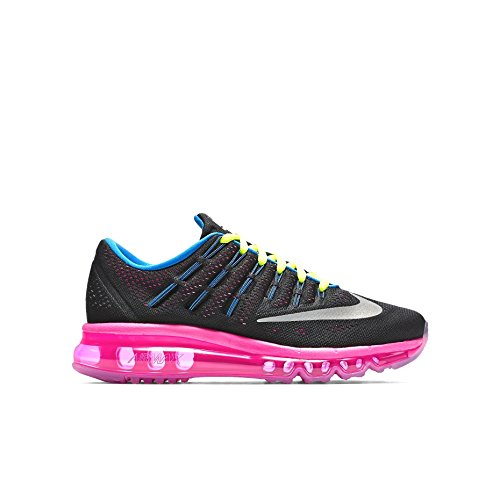 super popular 137af f3717 Galleon - Nike Air Max 2016 (GS) Black Pink Volt Silver 807237-006 (Size   6.5Y)