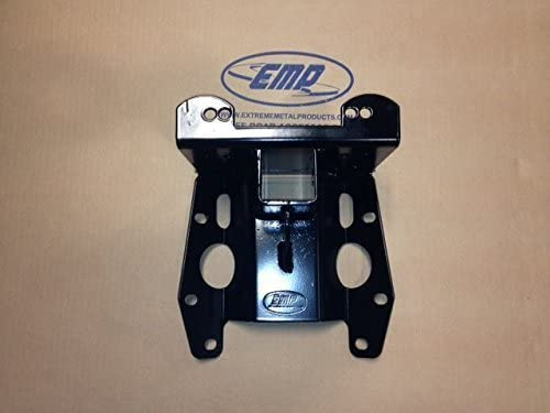 12120 2 Receiver Can-Am Maverick Rear Winch Mount by Extreme Metal Products