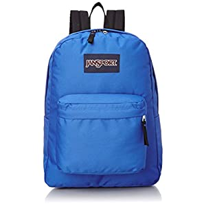 JanSport Superbreak School Backpack (Blue Streak)
