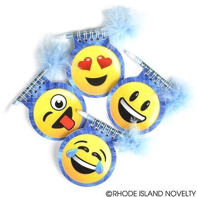 Emoji Party Favors 1 Dozen Emoji Notepads And Pen