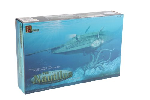 Pegasus Hobbies 1:144 Scale The Nautilus Submarine Model Kit from Pegasus Hobbies