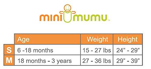 Mini Mumu Open Bottom Wearable Blanket Sleep Sack for Baby Toddler,  Alphabet Mix (Medium)