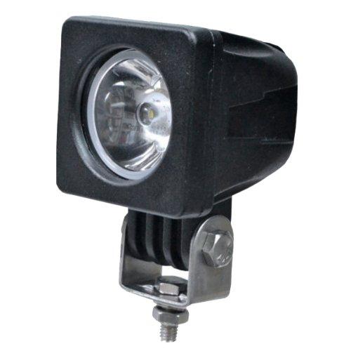 TMH 10w Cree LED Work Light Square Shape 30 Degree Spot Beam Lamp Lamp Driving Light, Jeep, Off-road, 4wd, 4x4, Utv, Sand Rail, Atv, Suv, Motorbike, Motorcycle, Bike, Dirt Bike, ()