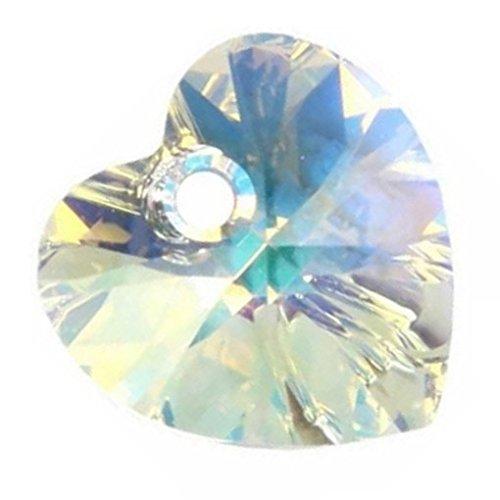 Swarovski Herz Anhänger crystal AB 28 mm, 16 Stück Stück Stück B00AV5FTHS | Schnelle Lieferung  4c3ba5