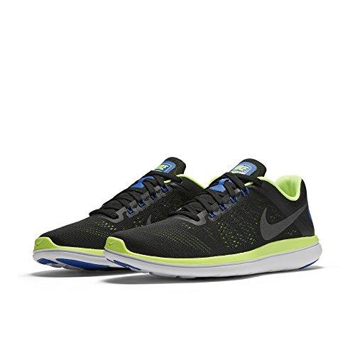 Dark Uomo Nike Nero Grey-ghost 830369-009 Da Scarpe Mtlc Green-white black Trail Running