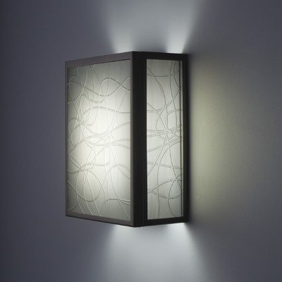 WPT Design FN3-BZ-MLIN-F F/N 3 - Two Light Wall Sconce, Glass Options: Linea