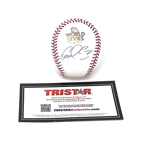 (Carlos Correa Houston Astros Signed Autograph Official MLB World Series Baseball Tristar Authentic Certified)