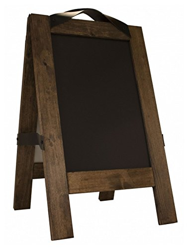 Restaurant A-Frame Sign-The Floor Talker-USA MADE-Two Magnetic Chalkboards on an A-Frame- Overall 16″ x 26″ -Chalk Board 11″ x 17″ -Includes white chisel tip marker. Type MenuCoverMan in Amazon search ()