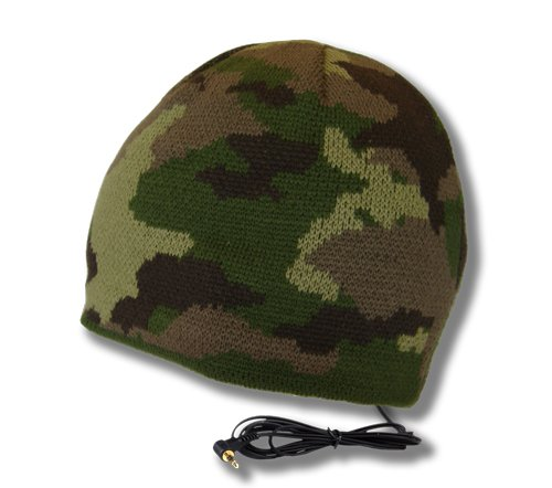 - TOOKS Brigade Headphone Hat with Built-in Removable Headphones - Color: Woodlands