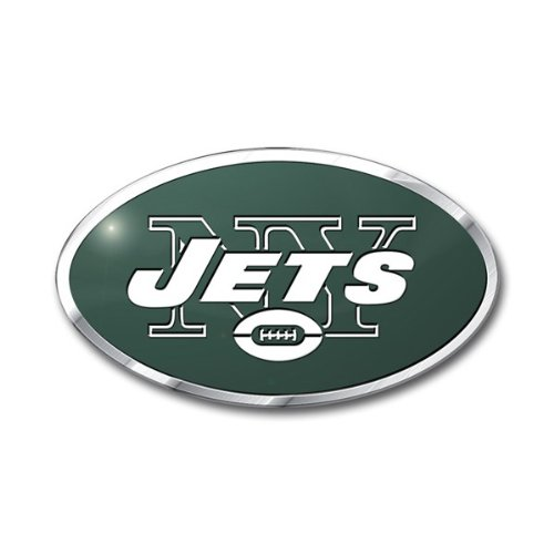 NFL New York Jets Die Cut Color Automobile Emblem