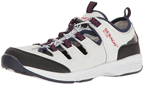 White Nubuck Shoes (Sebago Women's Cyphon Sea Fisherman Boating Shoe, White Nubuck, 9.5 M US)