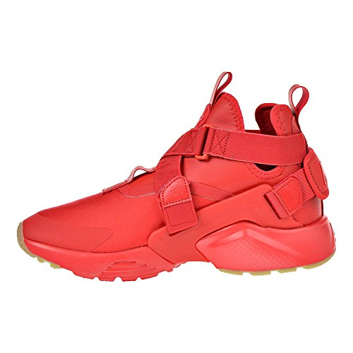 Pictures of NIKE Air Huarache City Women's Shoes Red/Speed Red/Black 4
