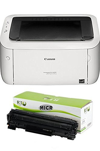Renewable Toner MICR Check Printing Package: Canon ImageCLASS LBP6030W Printer and 1 MICR Toner Cartridge 1600 Page Yield for Printing Business and Personal Checks