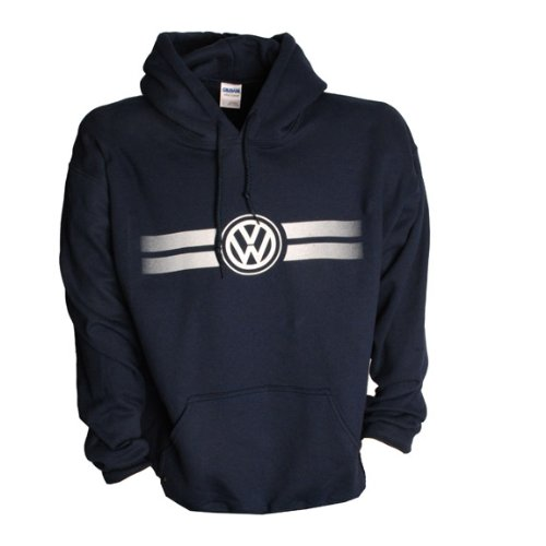 Genuine Volkswagen Game Day Hoodie -Navy- Size Large