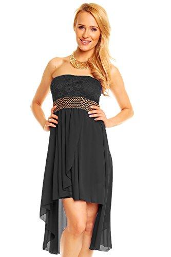 Elegantes Vokuhila Kleid Partykleid Abendkleid Cocktailkleid in ...