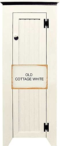Sawdust City Chimney Cupboard Old Cottage White