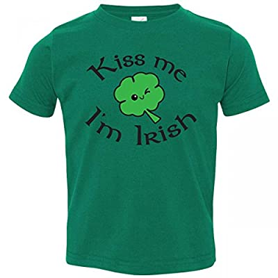 St. Patrick's Day Toddler Outfits - 'Kiss Me I'm Irish' Toddler T-shirt for Boys