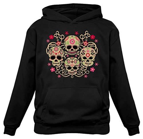Rose Eye Sugar Skulls - Day of The Dead Gothic Women