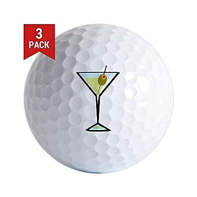 CafePress - Dirty Martini - Golf Balls (3-Pack), Unique Printed Golf Balls