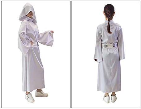 Disfraz de princesa Leia de Star Wars para adultos, set de disfraz ...