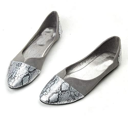 Chaussures Femme Plat Chaussures Bateau Chaussures Casual LIANGHUA Automne Femme De Mocassins Mocassins Printemps À Femme Talon dxnF7Uqw