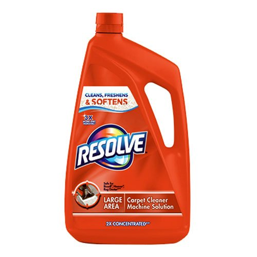 Resolve Carpet Steam Cleaner Solution, 48 fl oz (48 Ounce Carpet Cleaner)