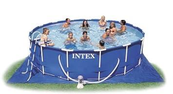 intex 15 x 42 metal frame swimming pool