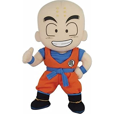 Great Eastern Entertainment Dragon Ball Z -Krillin Plush 8'': Toys & Games