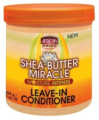 African Pride Shea Butter Miracle Leave-In Cond.15 Ounce (443ml) (2 Pack) African Pride Leave In Conditioner