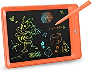 KOKODI LCD Writing Tablet, 10 Inch Toddler Doodle Board Drawing Tablet, Erasable Reusable Electronic Drawing P