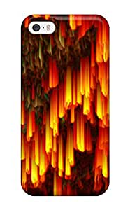 Iphone Case - Tpu Case Protective For Iphone 5/5s- Fractal