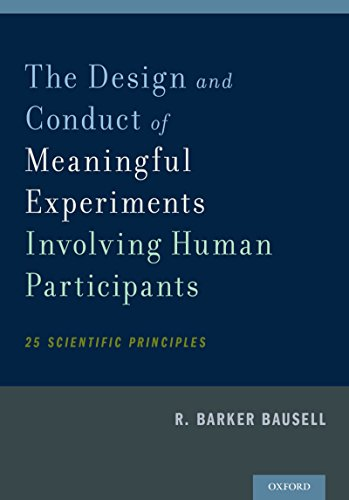 Download The Design and Conduct of Meaningful Experiments Involving Human Participants: 25 Scientific Principles Pdf
