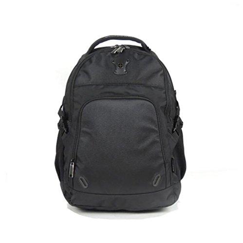 Mochila bolso de hombro hombre semiformal negro