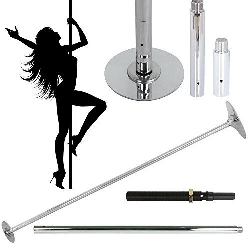 Yaheetech Professional 45mm Portable&Removable Dancing Pole Kit Portable Fitness Pole Fitness & Dance by Yaheetech