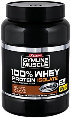Enervit Gymline muscular 100% proteína de suero + betaína sabor a cacao 700g Alimentación Suplemento