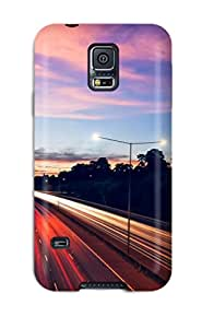 New Style ZippyDoritEduard Landscape Road Premium Tpu Cover Case For Galaxy S5