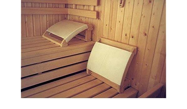 Sudorewell® Sauna - Reposacabezas con Bombeadas Piezas Laterales y ...
