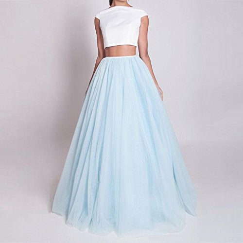 d6abcf8b949 Wedding Planning Long Floor Length Tulle Skirt for Women Plus Size ...