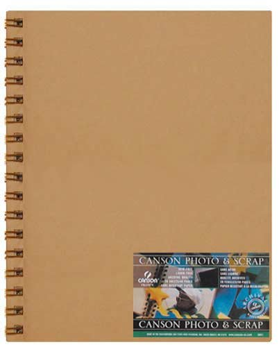 ook 9.25 x 10 Inches, 40 Pages (ANC541-2020) (Canson Scrapbook)