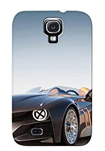 Galaxy S4 Case Slim [ultra Fit] Bmw And Girl Protective Case Cover(best Gift Choice For Friends)