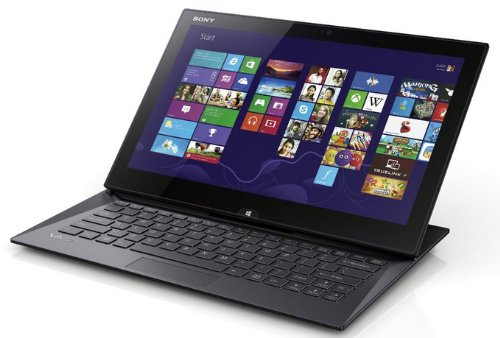 Sony VAIO SVD13223CXB 13.3-Inch Convertible 2 in 1 Touchscreen Ultrabook (Black)