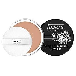 lavera Fine Loose Mineral Powder -Almond 05- Poudre Libre Minérale ∙ Procure un teint mat naturel ∙ Vegan Cosmétiques…