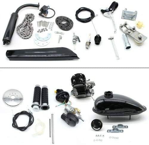 Kit de motor de gasolina para bicicleta de 50 cc, refrigeración ...