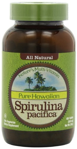 Spirulina Pacifica 500 mg 400 Tablets