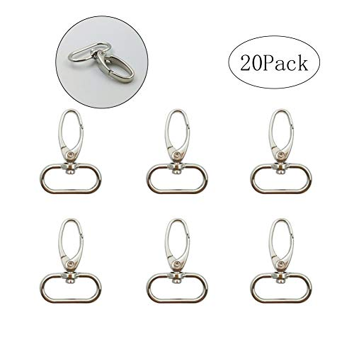 Metal Lobster Snap Clasps Silver Swivel Clasp 1